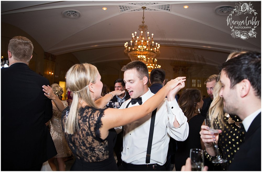 The President Hilton Wedding | KC Wedding Photographers | Emily & Dustin | Marissa Cribbs Photography_0790.jpg