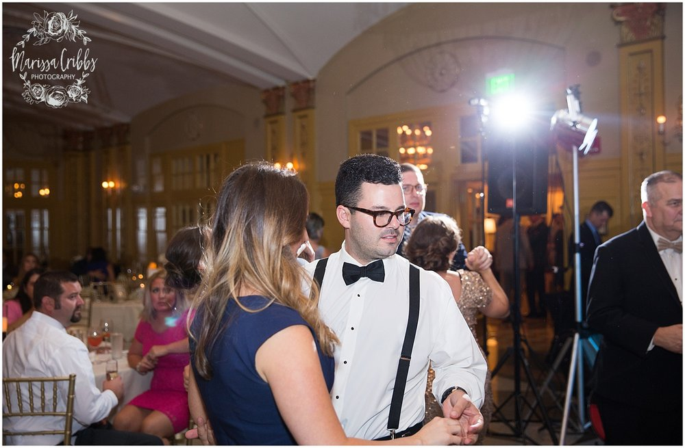 The President Hilton Wedding | KC Wedding Photographers | Emily & Dustin | Marissa Cribbs Photography_0789.jpg