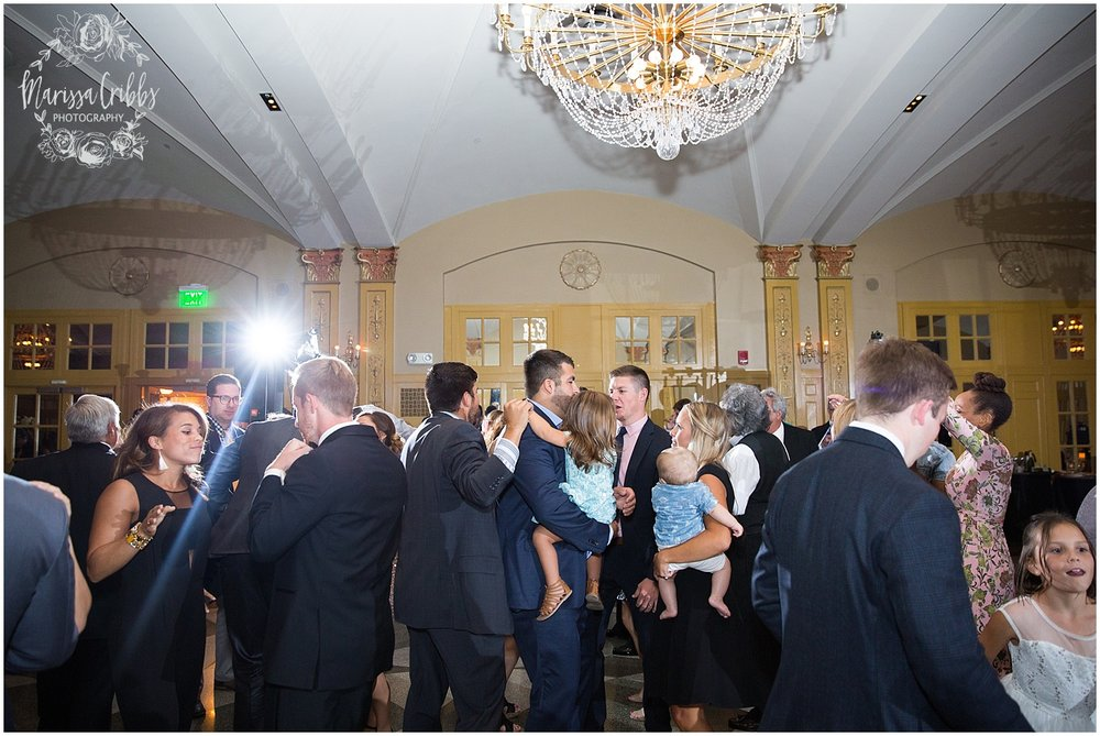 The President Hilton Wedding | KC Wedding Photographers | Emily & Dustin | Marissa Cribbs Photography_0794.jpg