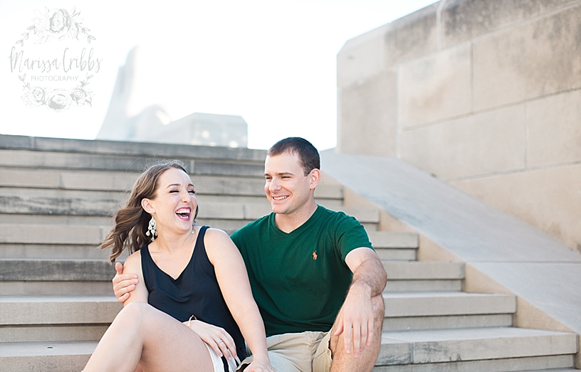 Hannah & Jeff Engagement Pictures | River Market KC | Liberty Memorial Engagement Pictures | Loose Park Engagement | Marissa Cribbs Photography_5029.jpg