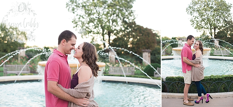 Hannah & Jeff Engagement Pictures | River Market KC | Liberty Memorial Engagement Pictures | Loose Park Engagement | Marissa Cribbs Photography_5039.jpg