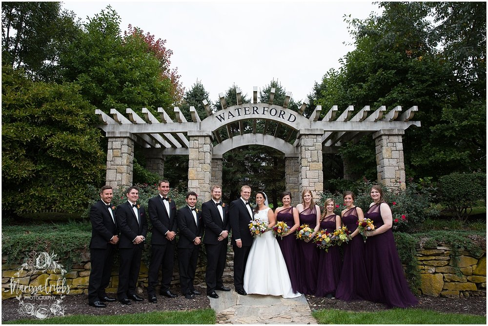 Blue Hills Country Club Wedding | Marissa Cribbs Photography | Nolte's Bridal | KC Wedding Photographer | KC Weddings_1142.jpg