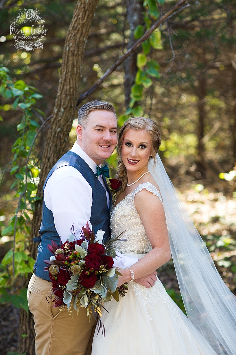 Bridgette & Tyler | Red Bud Party Barn Wedding | Wichita Wedding | Marissa Cribbs Photography_5427.jpg