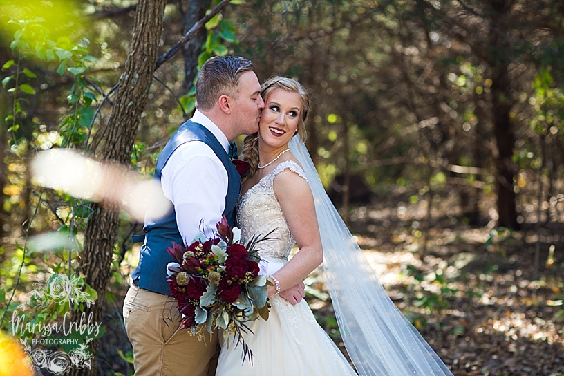 Bridgette & Tyler | Red Bud Party Barn Wedding | Wichita Wedding | Marissa Cribbs Photography_5428.jpg