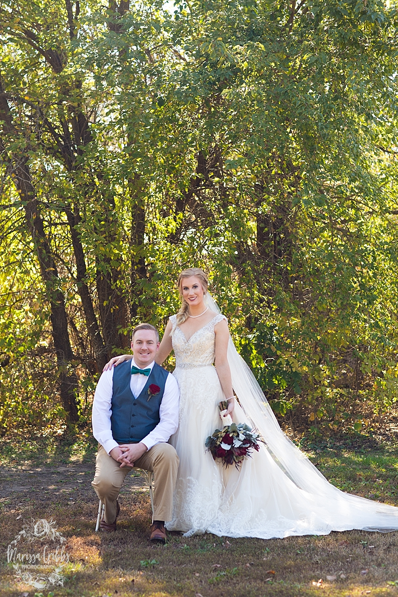 Bridgette & Tyler | Red Bud Party Barn Wedding | Wichita Wedding | Marissa Cribbs Photography_5441.jpg
