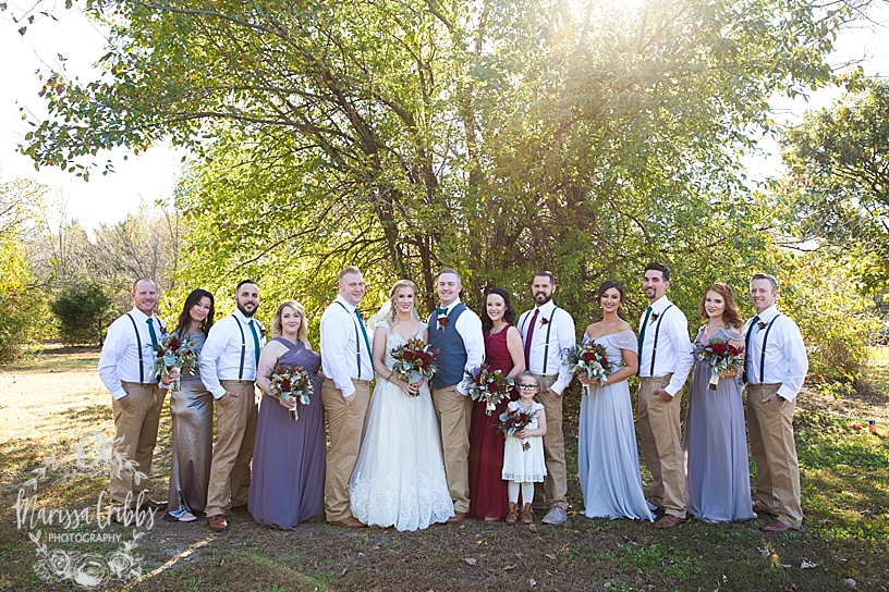 Bridgette & Tyler | Red Bud Party Barn Wedding | Wichita Wedding | Marissa Cribbs Photography_5464.jpg