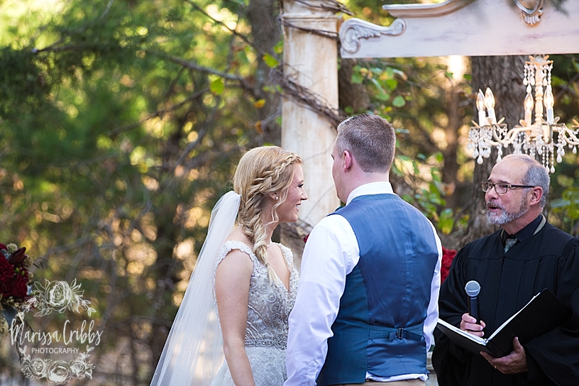 Bridgette & Tyler | Red Bud Party Barn Wedding | Wichita Wedding | Marissa Cribbs Photography_5473.jpg