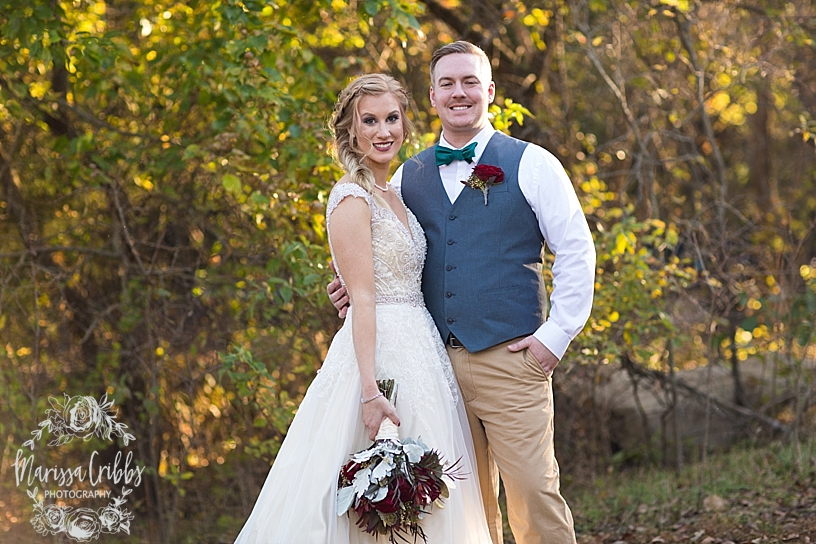 Bridgette & Tyler | Red Bud Party Barn Wedding | Wichita Wedding | Marissa Cribbs Photography_5491.jpg