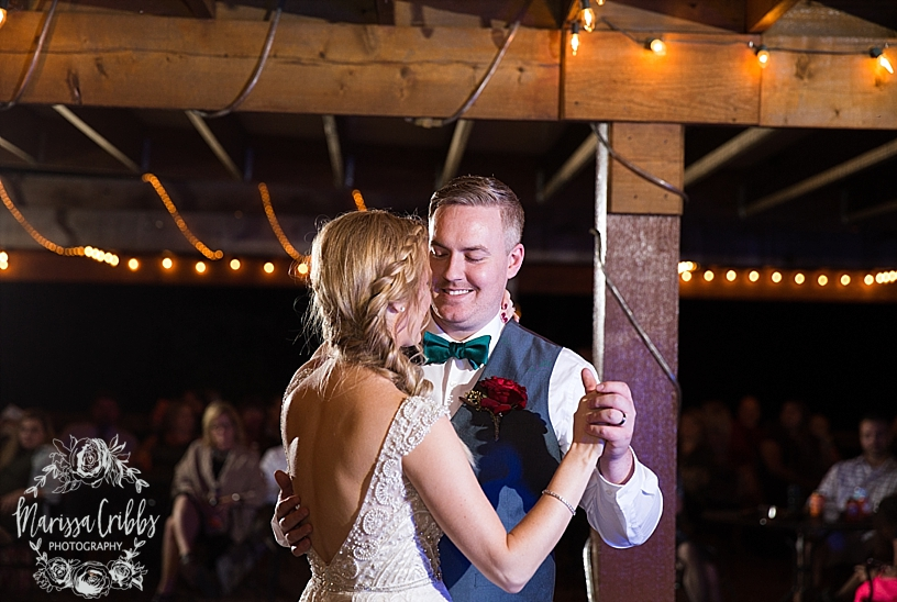 Bridgette & Tyler | Red Bud Party Barn Wedding | Wichita Wedding | Marissa Cribbs Photography_5520.jpg