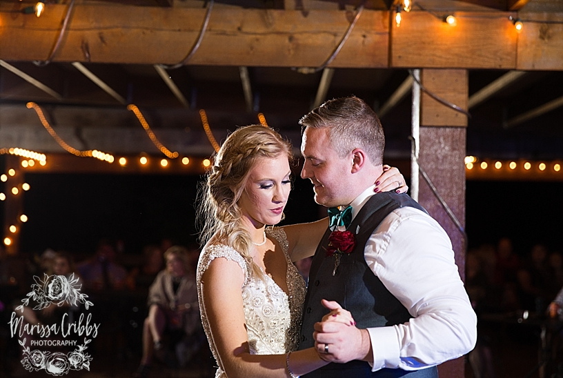 Bridgette & Tyler | Red Bud Party Barn Wedding | Wichita Wedding | Marissa Cribbs Photography_5521.jpg