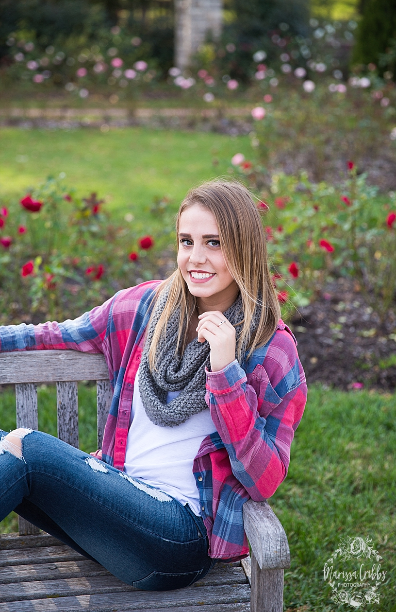 Jordan Senior Pics | Loose Park Senior Photography | Marissa Cribbs Photography_5539.jpg