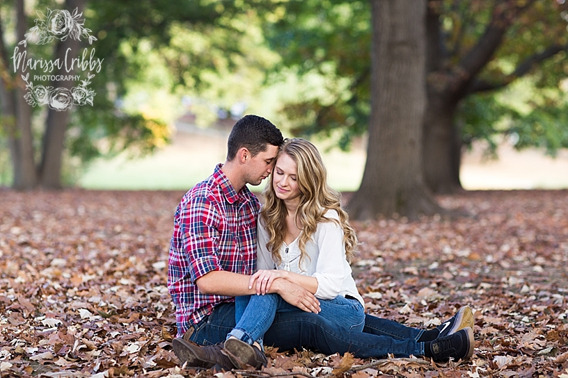 Maree & Corey | Loose Park | KC Engagement Photographer | Marissa Cribbs Photography_5591.jpg
