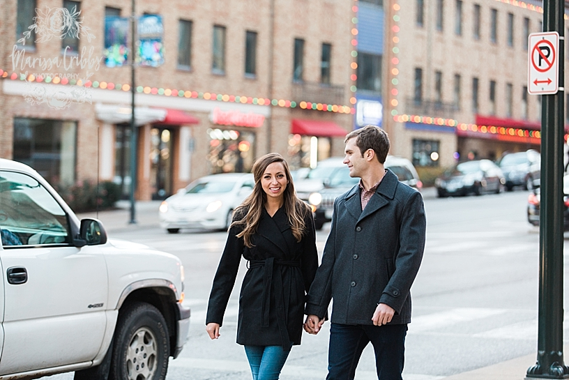 Kelsey & Brendan Engaged | Kansas City Plaza Lights | KC Plaza Christmas Engagement Photos | The Madrid Theatre | Marissa Cribbs Photography_5885.jpg