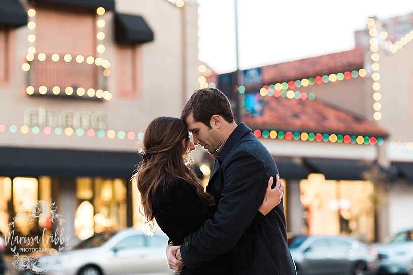 Kelsey & Brendan Engaged | Kansas City Plaza Lights | KC Plaza Christmas Engagement Photos | The Madrid Theatre | Marissa Cribbs Photography_5888.jpg