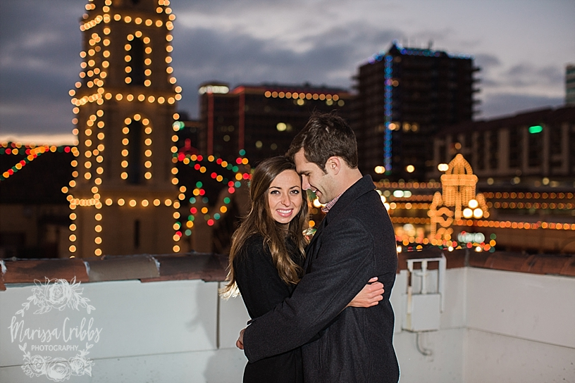 Kelsey & Brendan Engaged | Kansas City Plaza Lights | KC Plaza Christmas Engagement Photos | The Madrid Theatre | Marissa Cribbs Photography_5890.jpg