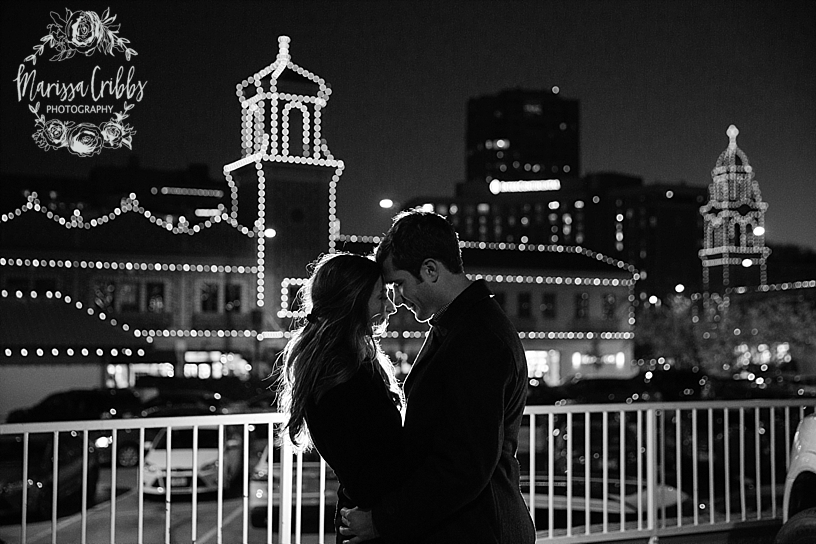 Kelsey & Brendan Engaged | Kansas City Plaza Lights | KC Plaza Christmas Engagement Photos | The Madrid Theatre | Marissa Cribbs Photography_5898.jpg