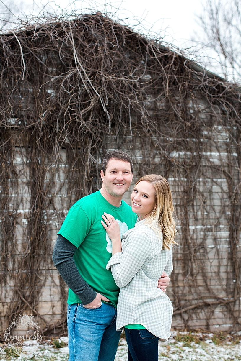 Allison & Kevin Engagement | KC Photographer |  Marissa Cribbs Photography_5931.jpg