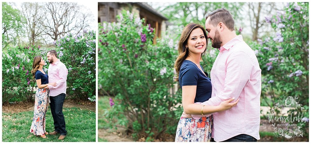 Leah & Michael Engagement | Loose Park Engagement Photos | KC Photographers | Marissa Cribbs Photography | KC Wedding Photographers_0789.jpg