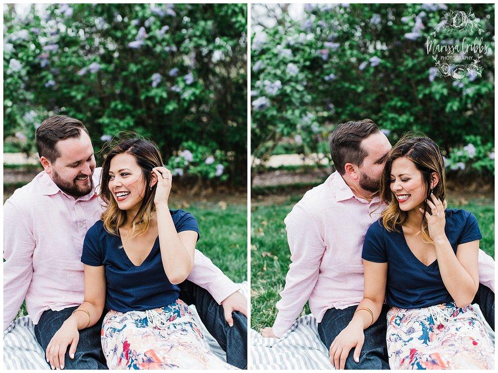 Leah & Michael Engagement | Loose Park Engagement Photos | KC Photographers | Marissa Cribbs Photography | KC Wedding Photographers_0791.jpg