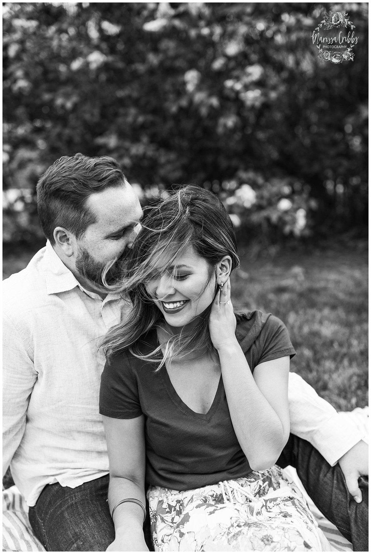 Leah & Michael Engagement | Loose Park Engagement Photos | KC Photographers | Marissa Cribbs Photography | KC Wedding Photographers_0792.jpg