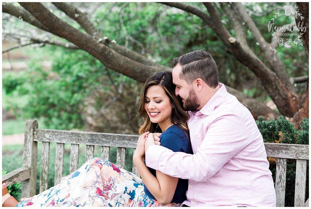 Leah & Michael Engagement | Loose Park Engagement Photos | KC Photographers | Marissa Cribbs Photography | KC Wedding Photographers_0793.jpg