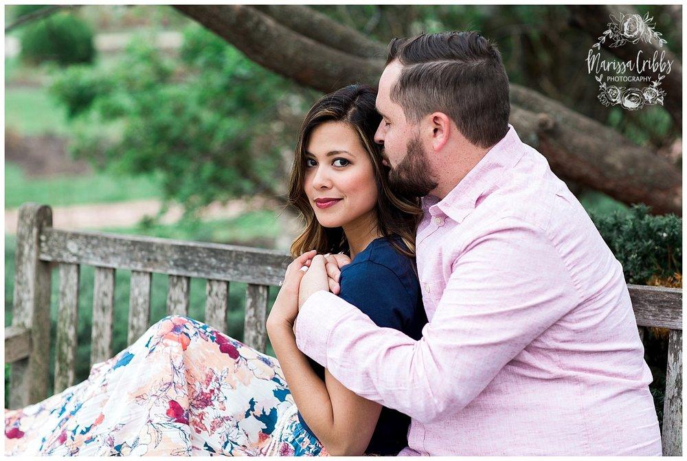 Leah & Michael Engagement | Loose Park Engagement Photos | KC Photographers | Marissa Cribbs Photography | KC Wedding Photographers_0795.jpg