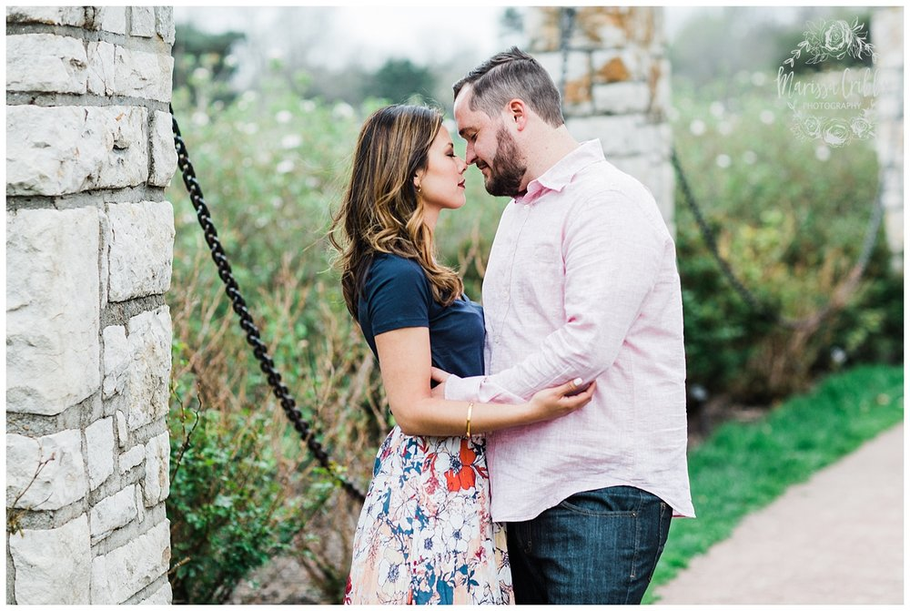Leah & Michael Engagement | Loose Park Engagement Photos | KC Photographers | Marissa Cribbs Photography | KC Wedding Photographers_0797.jpg