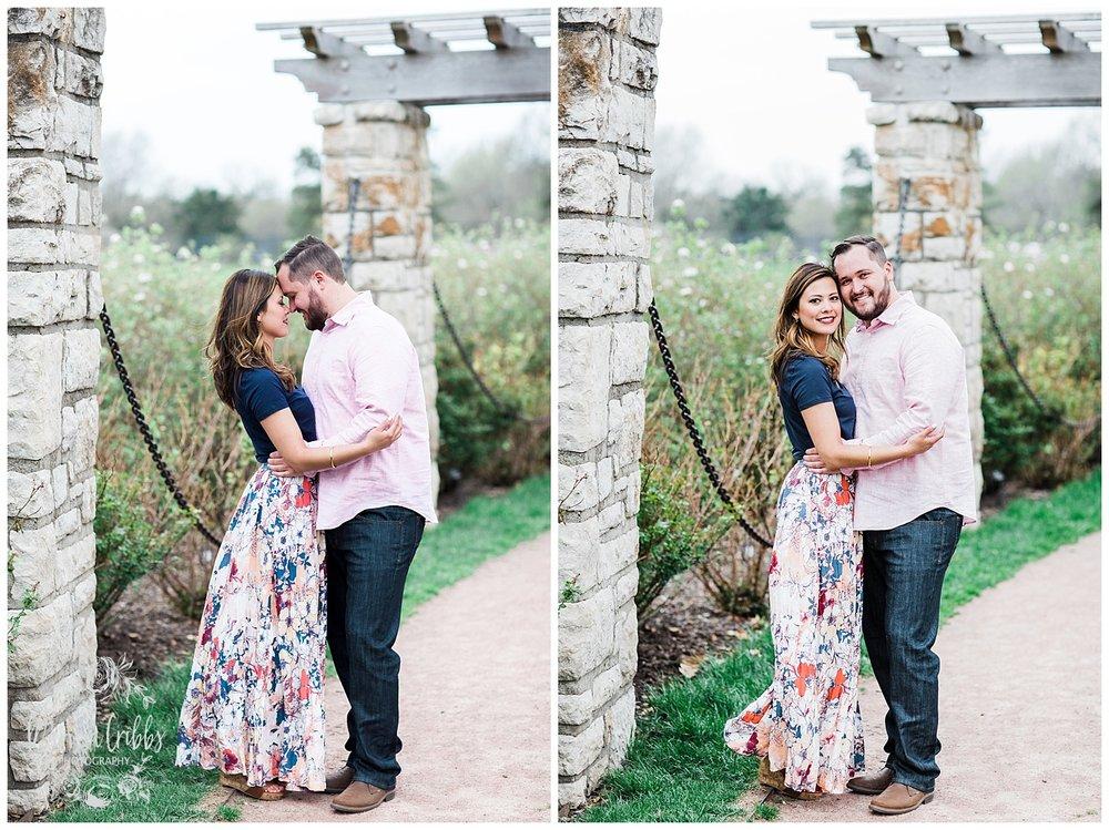 Leah & Michael Engagement | Loose Park Engagement Photos | KC Photographers | Marissa Cribbs Photography | KC Wedding Photographers_0798.jpg
