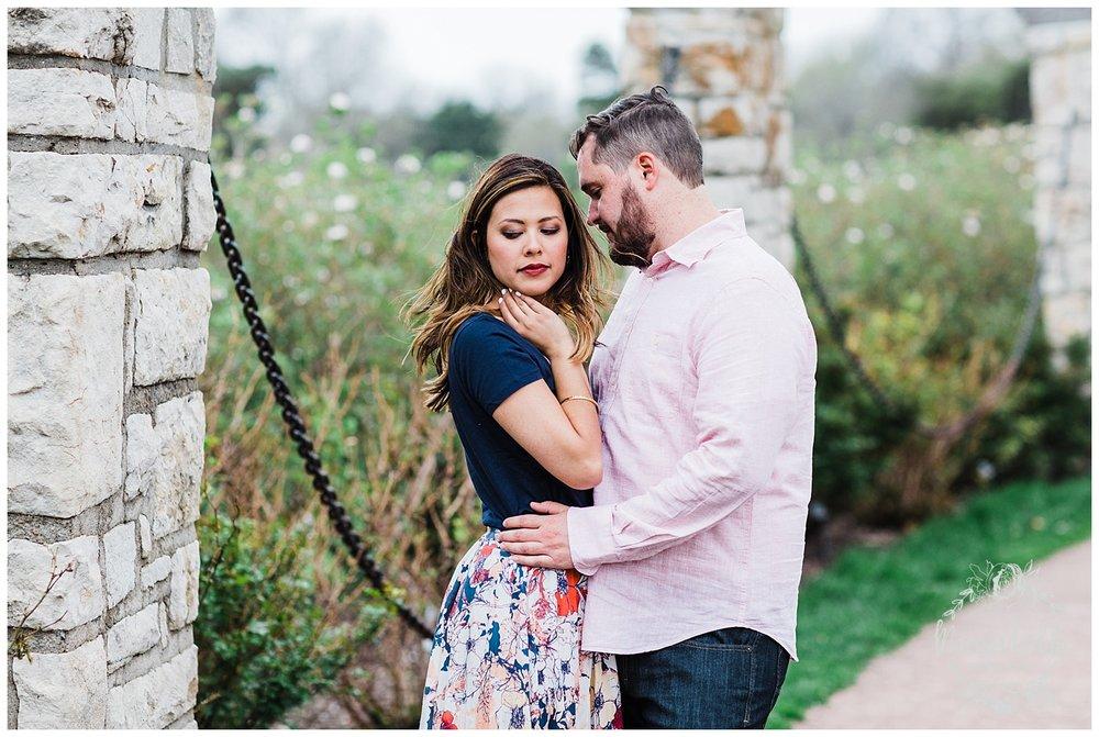 Leah & Michael Engagement | Loose Park Engagement Photos | KC Photographers | Marissa Cribbs Photography | KC Wedding Photographers_0799.jpg
