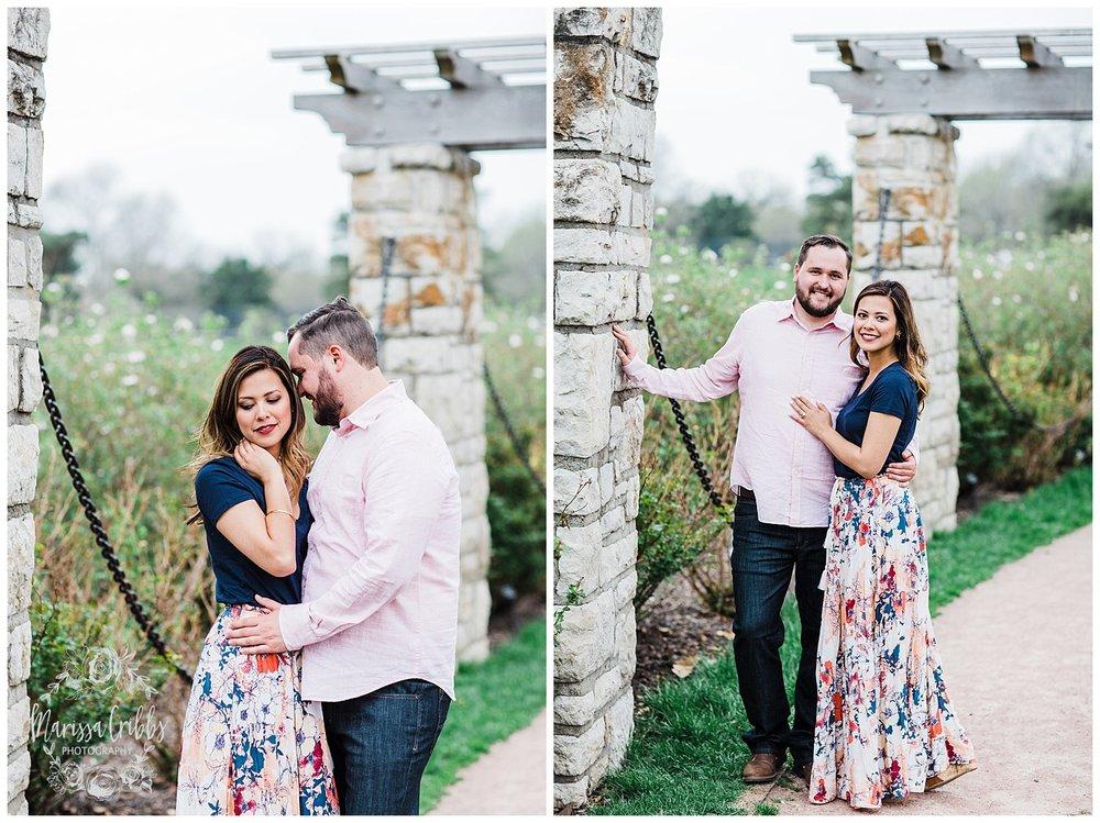 Leah & Michael Engagement | Loose Park Engagement Photos | KC Photographers | Marissa Cribbs Photography | KC Wedding Photographers_0800.jpg