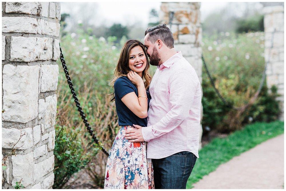 Leah & Michael Engagement | Loose Park Engagement Photos | KC Photographers | Marissa Cribbs Photography | KC Wedding Photographers_0801.jpg