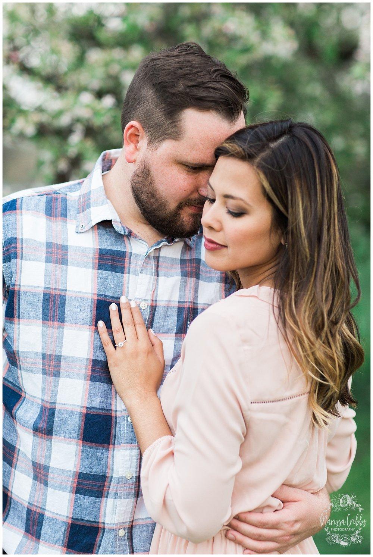 Leah & Michael Engagement | Loose Park Engagement Photos | KC Photographers | Marissa Cribbs Photography | KC Wedding Photographers_0809.jpg