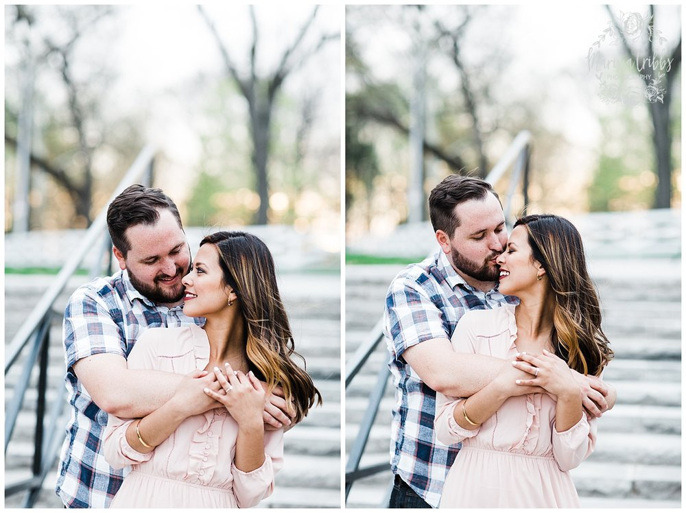 Leah & Michael Engagement | Loose Park Engagement Photos | KC Photographers | Marissa Cribbs Photography | KC Wedding Photographers_0812.jpg