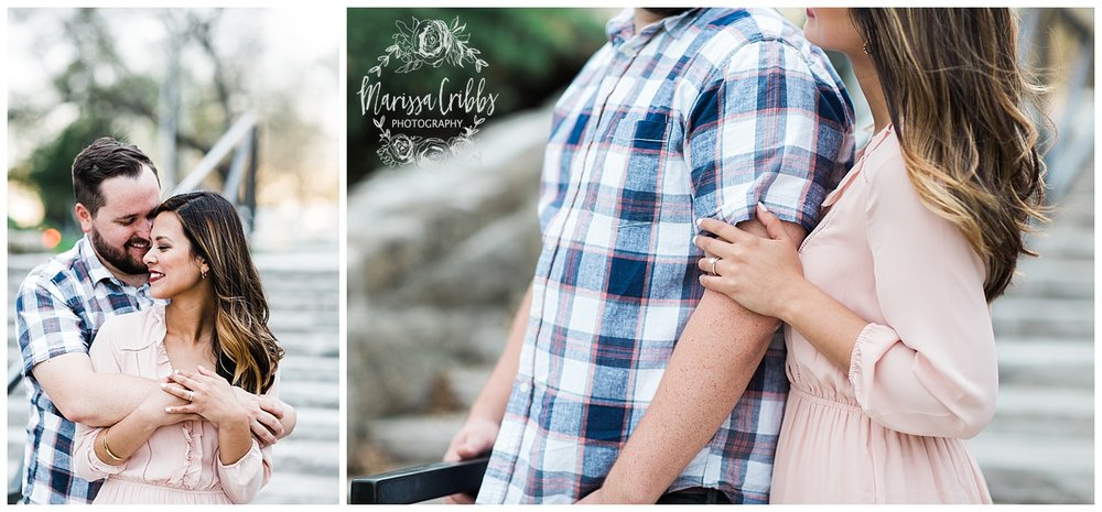 Leah & Michael Engagement | Loose Park Engagement Photos | KC Photographers | Marissa Cribbs Photography | KC Wedding Photographers_0814.jpg