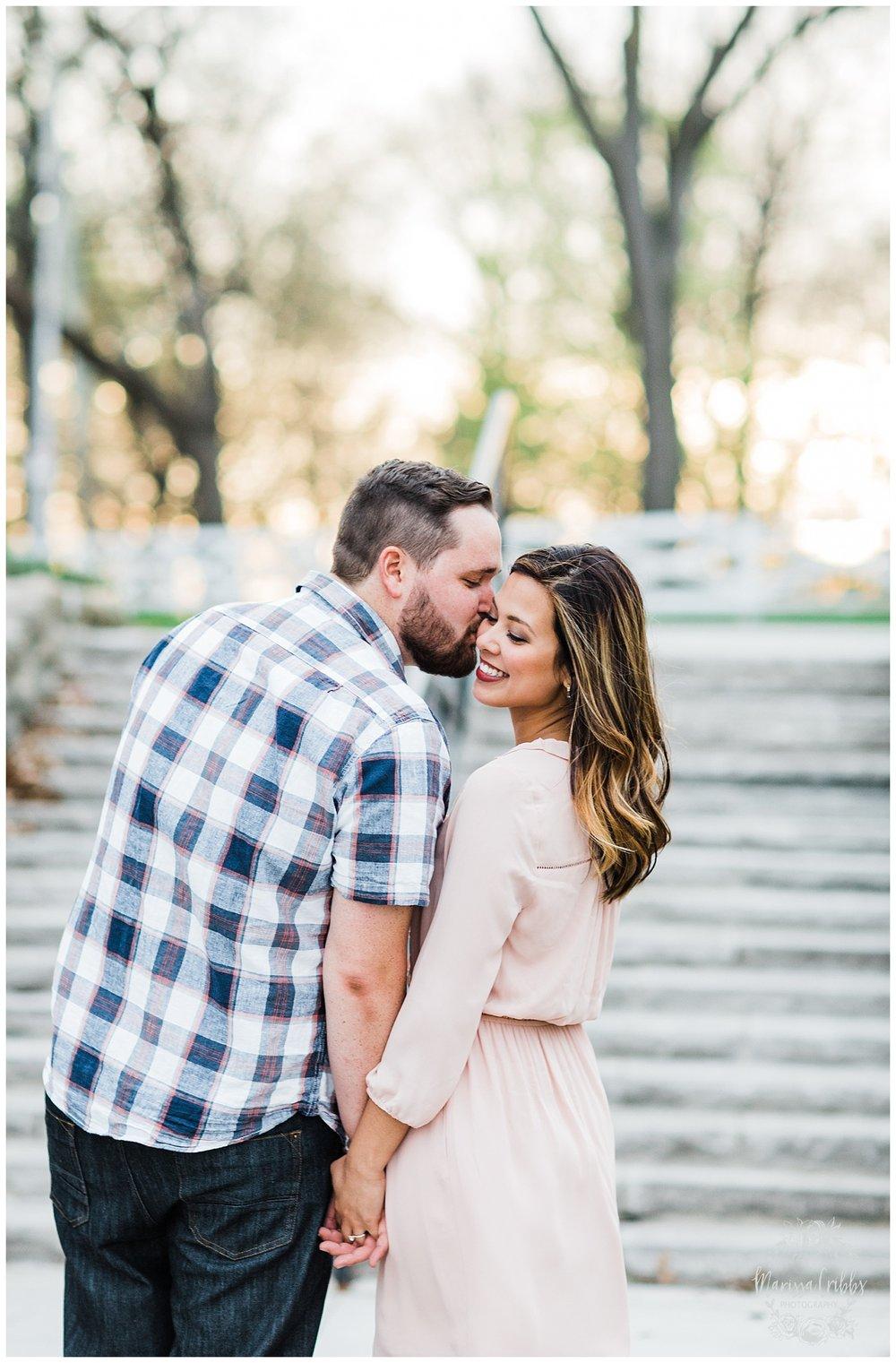 Leah & Michael Engagement | Loose Park Engagement Photos | KC Photographers | Marissa Cribbs Photography | KC Wedding Photographers_0816.jpg