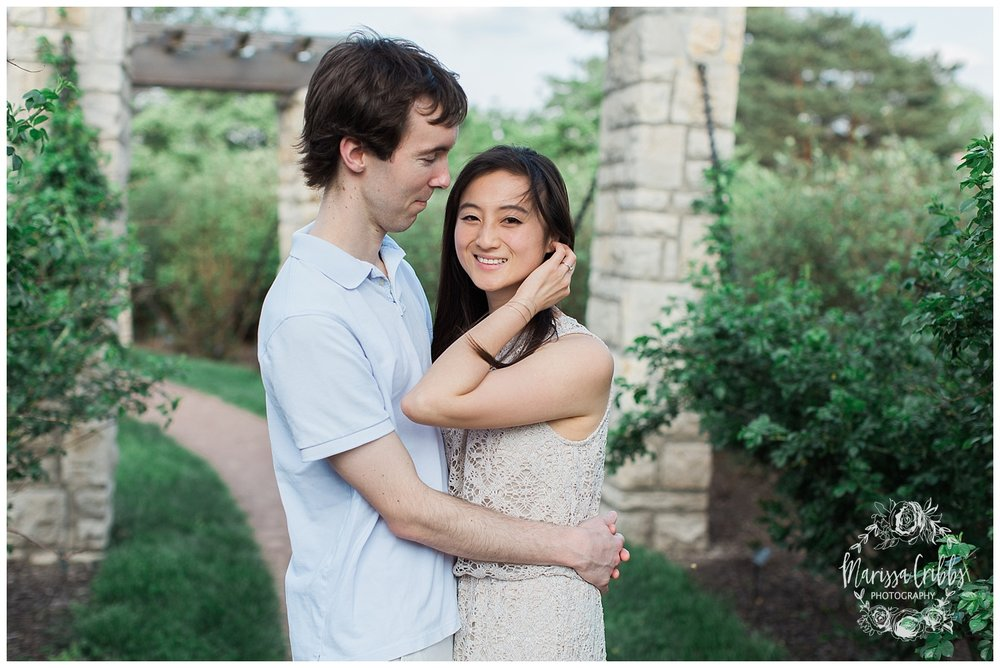 Jenny & Jonathan Engagement | Loose Park Engagement Photos | KC Photographers | Marissa Cribbs Photography | KC Wedding Photographers_0818.jpg