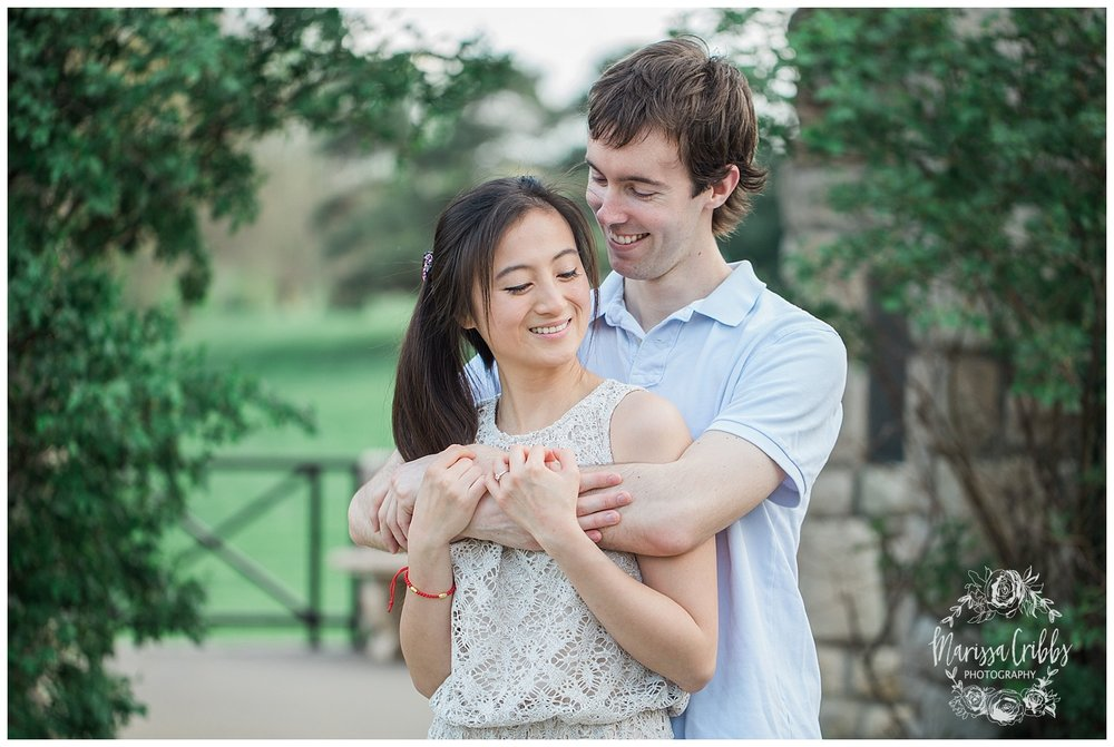 Jenny & Jonathan Engagement | Loose Park Engagement Photos | KC Photographers | Marissa Cribbs Photography | KC Wedding Photographers_0820.jpg