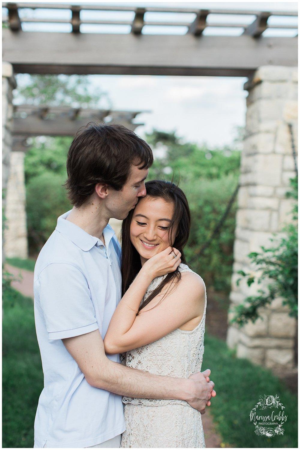 Jenny & Jonathan Engagement | Loose Park Engagement Photos | KC Photographers | Marissa Cribbs Photography | KC Wedding Photographers_0819.jpg