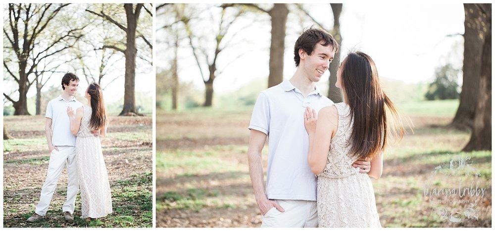 Jenny & Jonathan Engagement | Loose Park Engagement Photos | KC Photographers | Marissa Cribbs Photography | KC Wedding Photographers_0827.jpg