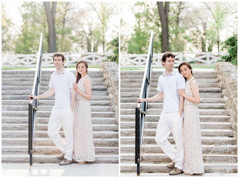 Jenny & Jonathan Engagement | Loose Park Engagement Photos | KC Photographers | Marissa Cribbs Photography | KC Wedding Photographers_0826.jpg