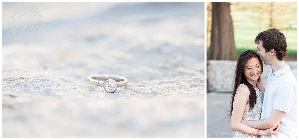 Jenny & Jonathan Engagement | Loose Park Engagement Photos | KC Photographers | Marissa Cribbs Photography | KC Wedding Photographers_0828.jpg