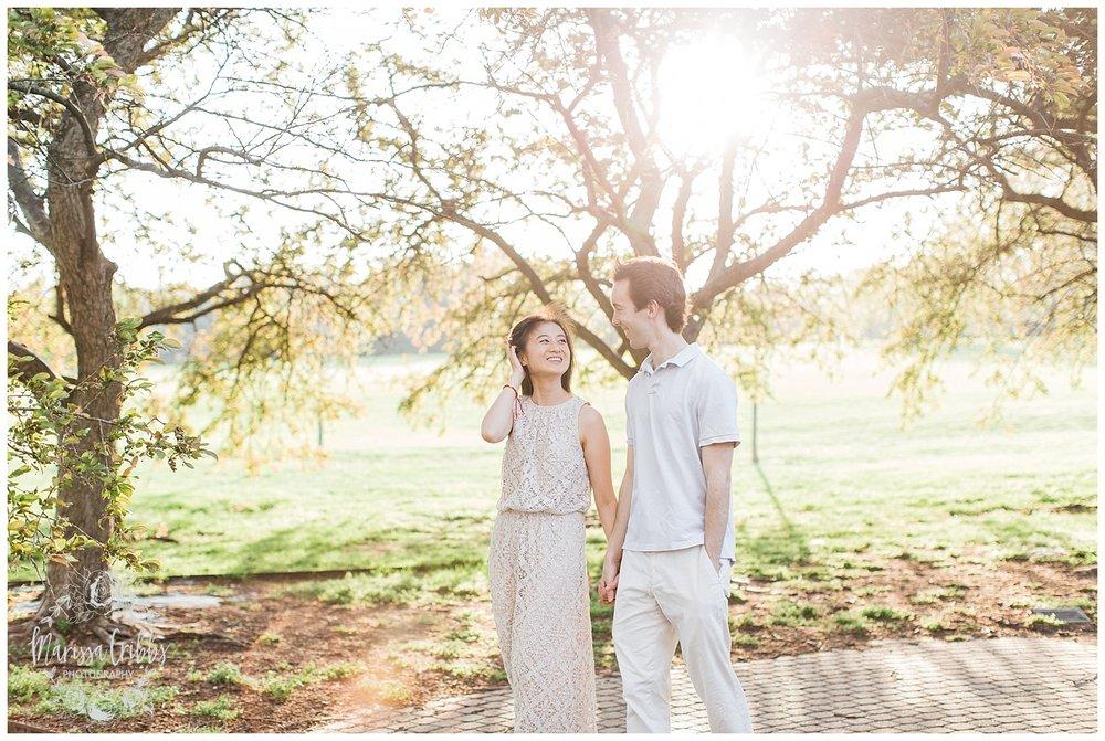 Jenny & Jonathan Engagement | Loose Park Engagement Photos | KC Photographers | Marissa Cribbs Photography | KC Wedding Photographers_0829.jpg