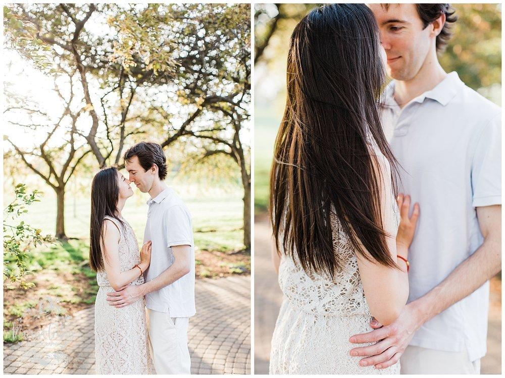 Jenny & Jonathan Engagement | Loose Park Engagement Photos | KC Photographers | Marissa Cribbs Photography | KC Wedding Photographers_0830.jpg