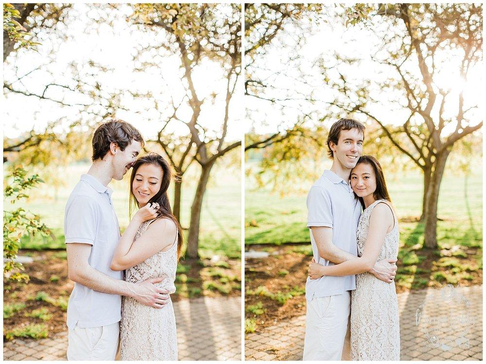 Jenny & Jonathan Engagement | Loose Park Engagement Photos | KC Photographers | Marissa Cribbs Photography | KC Wedding Photographers_0833.jpg