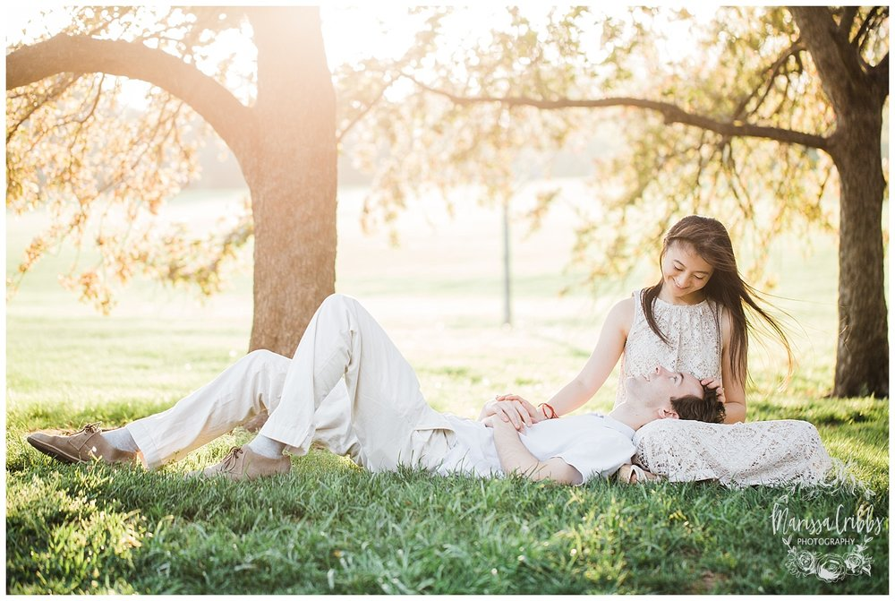 Jenny & Jonathan Engagement | Loose Park Engagement Photos | KC Photographers | Marissa Cribbs Photography | KC Wedding Photographers_0834.jpg