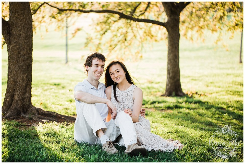 Jenny & Jonathan Engagement | Loose Park Engagement Photos | KC Photographers | Marissa Cribbs Photography | KC Wedding Photographers_0835.jpg