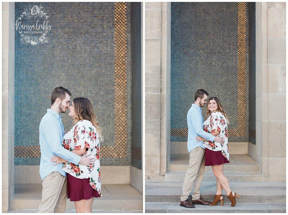 Dani & Michael | Liberty Memorial Engagement Photos | Marissa Cribbs Photography | KC Wedding Photographers_0970.jpg