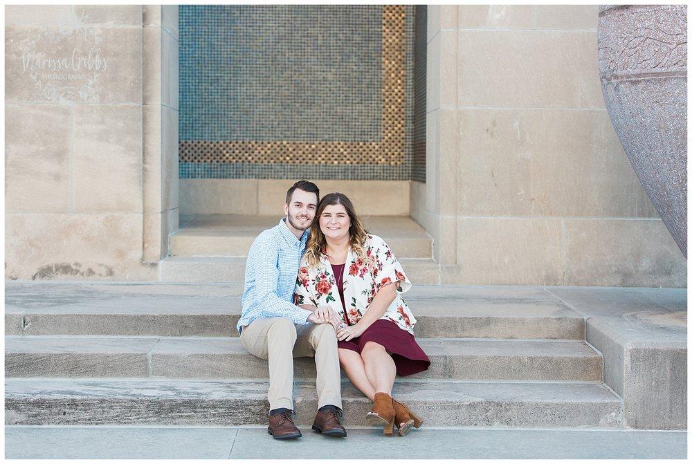 Dani & Michael | Liberty Memorial Engagement Photos | Marissa Cribbs Photography | KC Wedding Photographers_0972.jpg