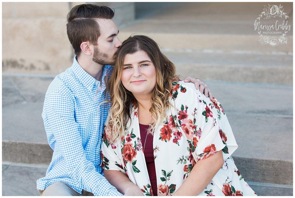 Dani & Michael | Liberty Memorial Engagement Photos | Marissa Cribbs Photography | KC Wedding Photographers_0973.jpg