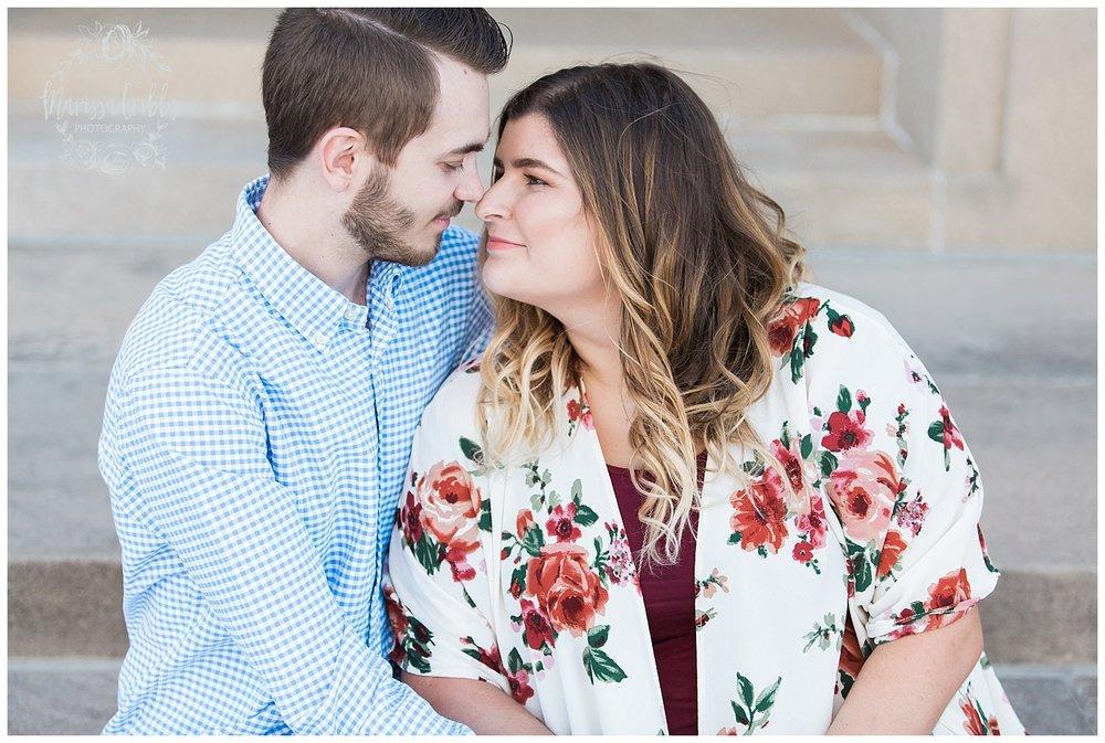 Dani & Michael | Liberty Memorial Engagement Photos | Marissa Cribbs Photography | KC Wedding Photographers_0974.jpg